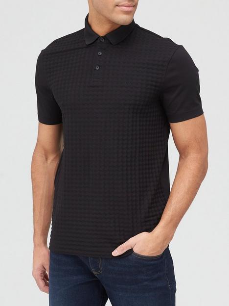 armani-exchange-armani-exchange-textured-polo-shirt