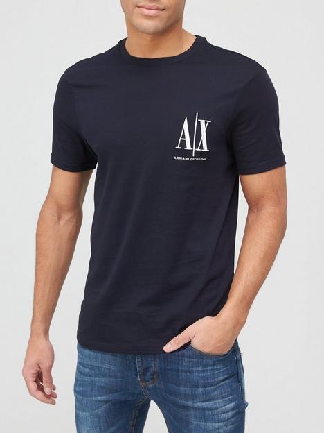 armani-exchange-icon-small-logo-t-shirt-navy
