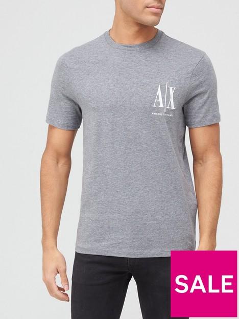 armani-exchange-icon-small-logo-t-shirt-grey