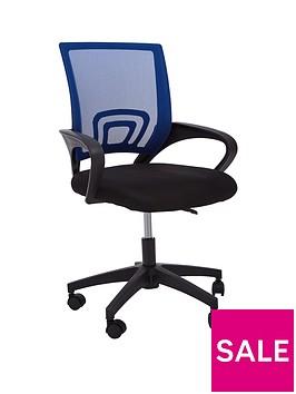premier-housewares-maurice-office-chair--blue