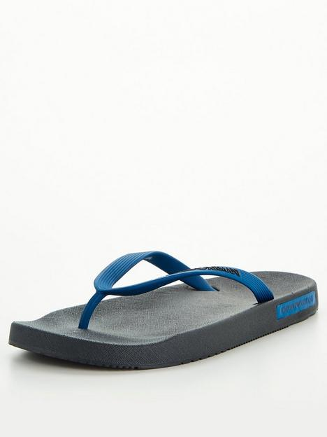 emporio-armani-essential-logo-flip-flops-navynbsp