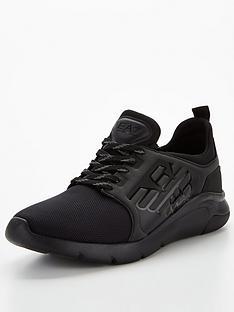 ea7-emporio-armani-a-racer-reflex-runner-trainers-black