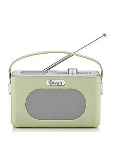 swan-retro-dab-bluetooth-radio-green