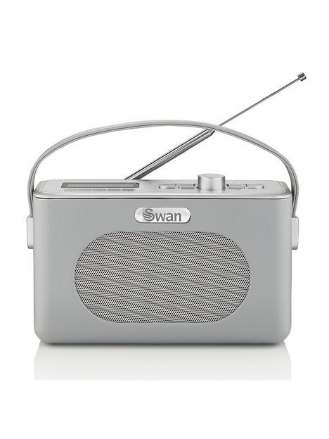 swan-retro-dab-bluetooth-radio-grey