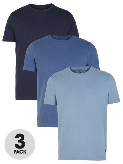 us-polo-assn-t-shirts-3-pack-bluenbsp