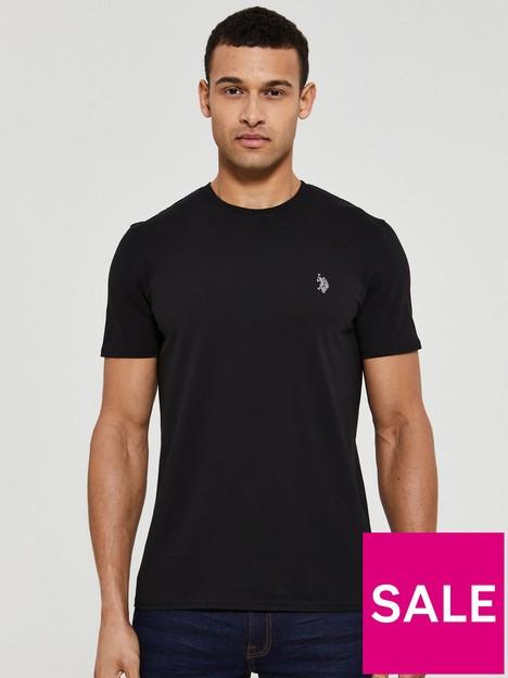 us-polo-assn-core-jersey-t-shirt-blacknbsp