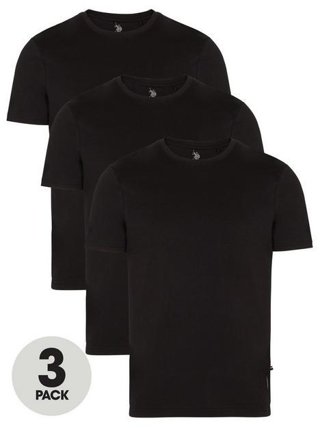 us-polo-assn-t-shirts-3-pack-blacknbsp