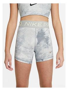 nike-girls-nike-pro-all-over-printnbsp3in-short-grey