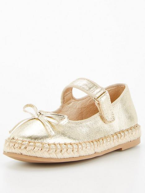 v-by-very-girls-bow-front-espadrille-gold