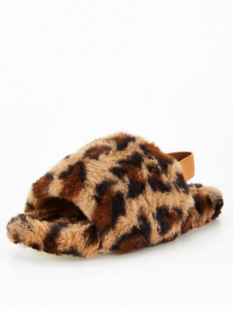 v-by-very-girls-leopardnbspfluffy-slippers-print