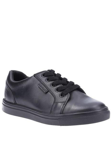 hush-puppies-sam-back-to-schoolnbsplace-trainers-black
