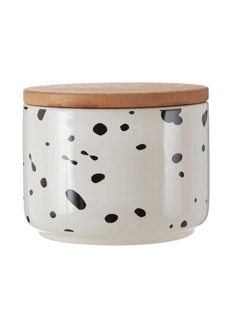 premier-housewares-small-speckled-canister