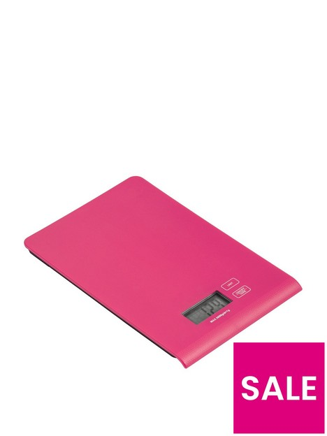 premier-housewares-5kg-kitchen-scale-hot-pink