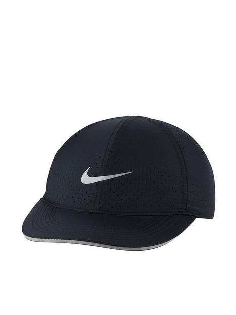 nike-featherlightnbsprunning-cap-black