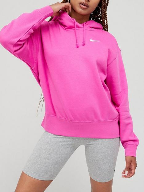 nike-nswnbsptrend-pullovernbsphoodie-pink