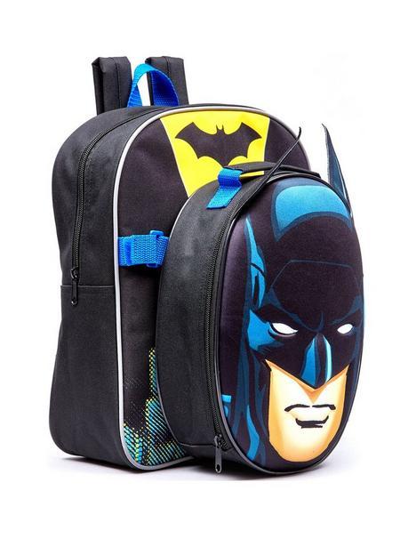 batman-batman-bag-set-backpack-lunch-bag-water-bottle