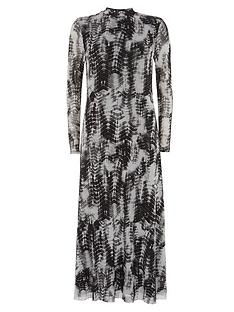 mint-velvet-della-print-jersey-column-dress-grey