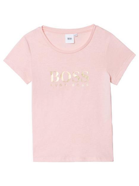 boss-girls-logo-short-sleeve-t-shirt-pale-pink