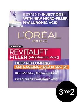 loreal-paris-loreal-paris-revitalift-filler-hyaluronic-acid-anti-ageing-anti-wrinkle-spf-50-replumping-day-cream-50ml