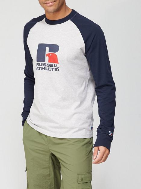 russell-athletic-raglan-long-sleeve-t-shirt-greynavy