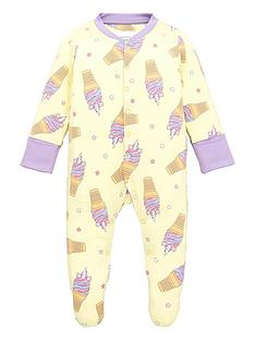 chelsea-peers-baby-girls-unicorn-ice-cream-print-sleepsuit-lemon