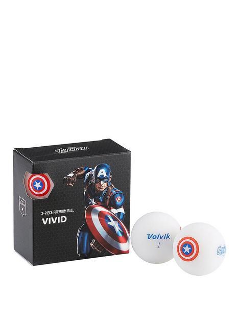 volvik-volvik-marvel-4-ball-pack-captain-america