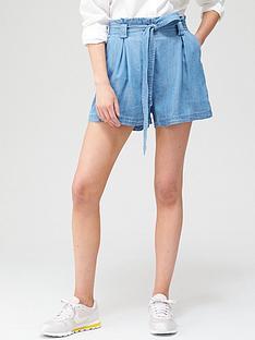 superdry-desert-paper-bag-shorts-bluenbsp