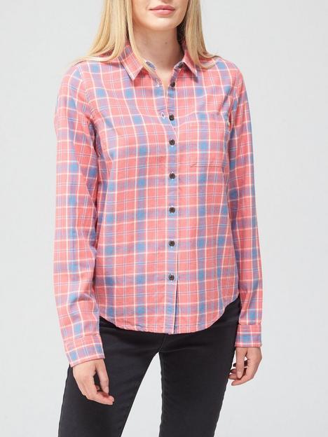 superdry-lightweight-check-shirt-pinknbsp