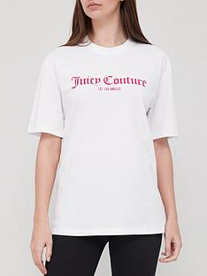 juicy-couture-unisex-t-shirtnbspwith-graphic-white