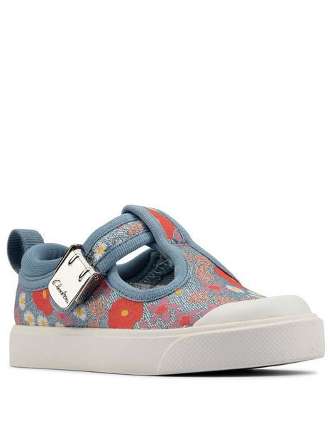 clarks-city-dance-t-bar-floral-canvas-shoe-blue