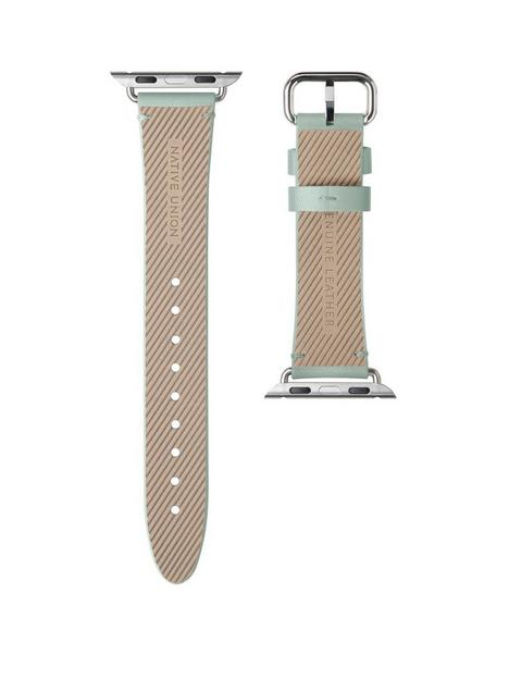 native-union-genuine-leather-classic-strap-for-apple-watch-40mm-sage