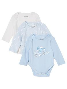 river-island-baby-baby-boy-3-pack-crown-bodysuits-blue