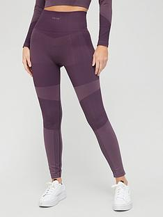 hunkemoller-high-waist-motion-legging-plum