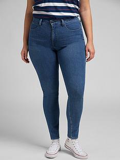 lee-plusnbspclassic-straight-super-high-waist-jean-mid-wash-blue