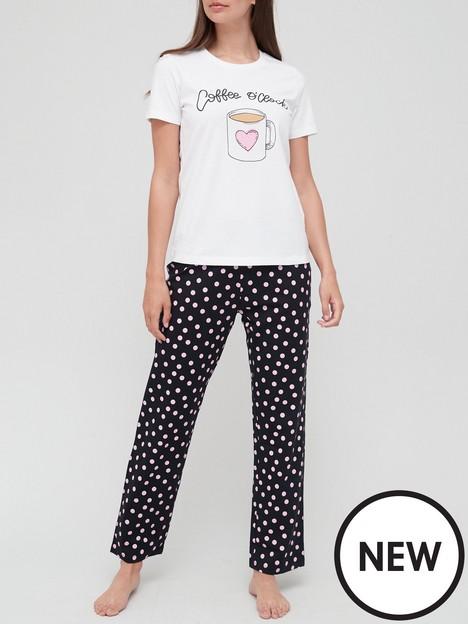 v-by-very-coffee-print-cotton-pyjama-set-print