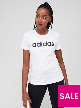 adidas-essentials-linear-slim-t-shirt-whiteblack