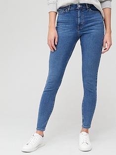 v-by-very-premium-high-waist-abraided-hem-skinny-jean-mid-wash