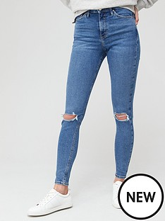 v-by-very-premium-high-waist-knee-rip-skinny-jean-mid-wash