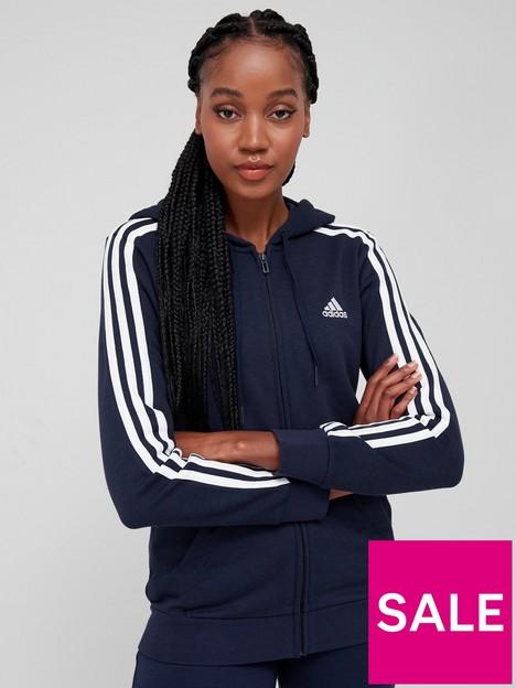 adidas-essentials-3-stripes-full-zip-hoodie