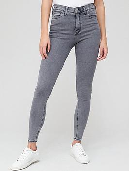 v-by-very-short-premium-high-waist-skinny-jean-grey