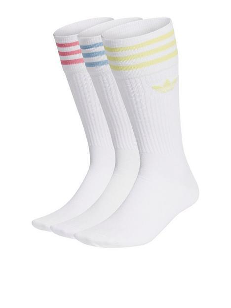 adidas-originals-crew-socks-3-pack-whitemulti