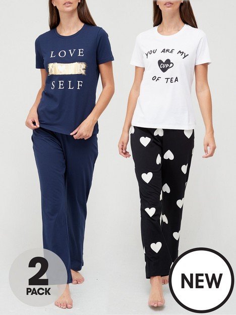 v-by-very-love-yourselfnbspwide-leg-pyjamas-2-pack-multi