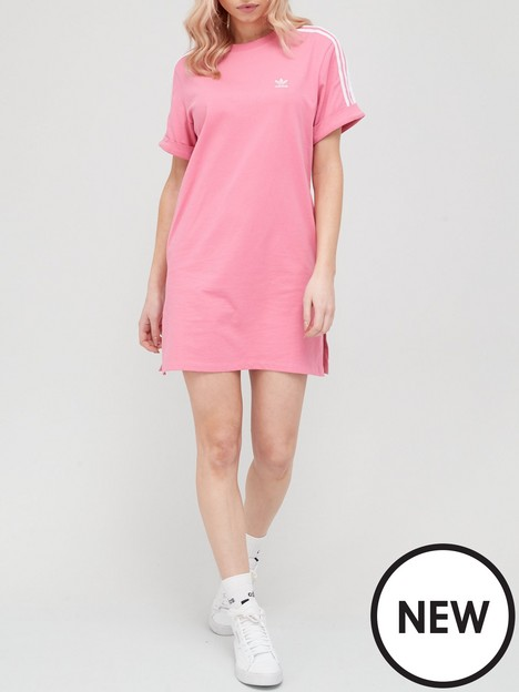 adidas-originals-t-shirtnbspdress-rose