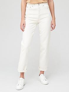 v-by-very-premium-high-waist-straight-jean-ecru