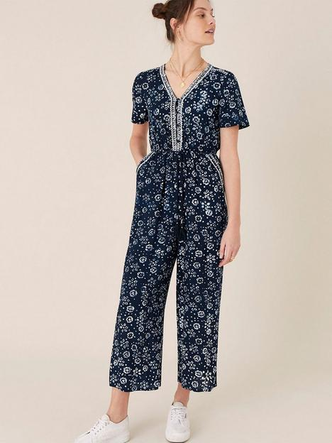 monsoon-ashoka-batik-print-jumpsuit-navy