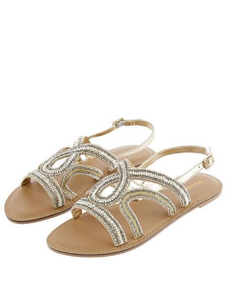 monsoon-beaded-embellished-sandal-gold