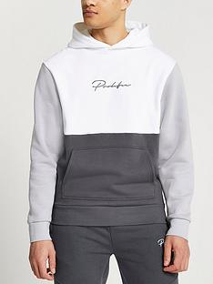 river-island-prolific-blocked-hoodie-grey