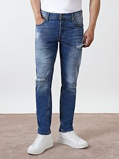 river-island-dylan-ripped-slim-fit-jeans-blue