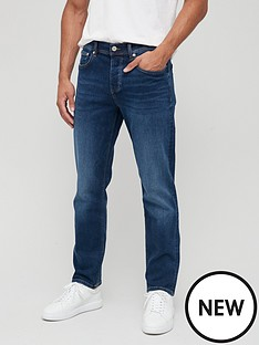 river-island-straight-jeans-blue