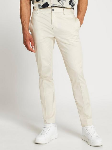 river-island-skinny-fit-chino-trousers-cream